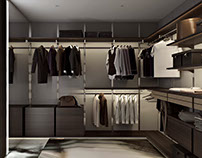 Men's Dressing Room. 3DDesign