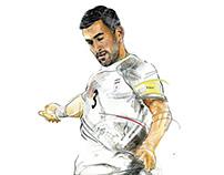 Ehsan Hajsafi (IRAN in World Cup)