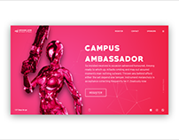 APOGEE 2019 Intro Site UI Design