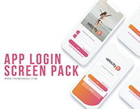 App Login Screen Pack