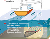 PESCA ELÉCTRICA Infographic gif