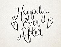 Calligraphy- Wedding Invitations
