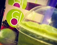 Go Smoothies Branding
