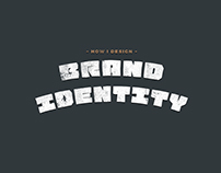 How I design Brand Identity, a quick infographic