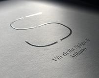 Via della Spiga 5 - Logo, brochure, landing page