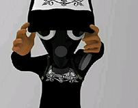 DJ TUIM - CHARACTER DESIGN