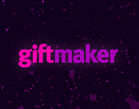 Landing page for Giftmaker