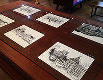 Pretoria Heritage Drawings in Pen and Ink