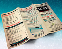 MENU | Brochure (tri-fold)