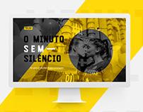 O Minuto sem Silêncio / Folha