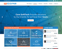 Core Software Technologies inc Home page Design