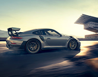 Porsche GT2RS Rooftop-Racing