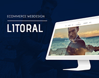 Litoral - Ecommerce webdesign