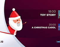 OTE TV xmas 2014 onair package