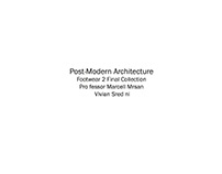 Post-Modern Architecture Digital Collection