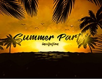 Beach Party - After Effcts Template