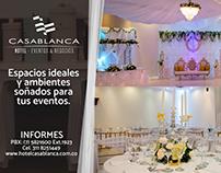 Avisos Ventura plaza - Hotel Casa Blanca