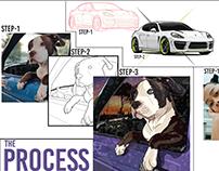 Illustrator/ Visual Designer Portfolio PItch Deck!