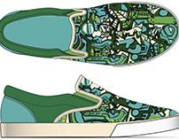 Blue 2 Shoe
