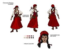 "Character design: ""Corine"""