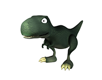 3D Modeling: Tyrannosaurus Rex