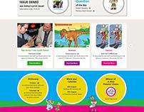 Kids News Paper Website