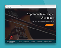L'école de musique Arquemuse