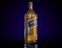 Johnnie Walker Blue Label CGI