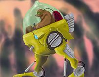 Robot Bear Pilot.