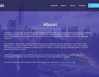 CityGide.-(Web-based, location-related tourism app.)