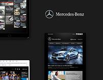 Mercedes-Benz Editorial, Print and Digital