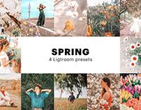 Free Spring Instagram Filter - Lightroom Preset