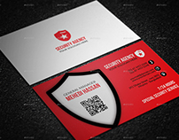 Security Agency business card