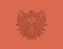 World of Warcraft Class Crest Line Art