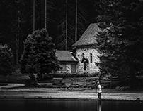 Dolomites ⏤ Black lakes