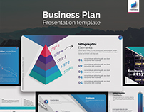 Business Plan free PowerPoint template