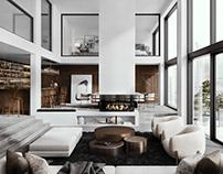 Luxury penthouse concept