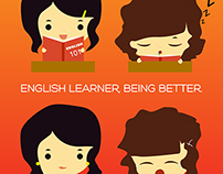 English learner, being better.
