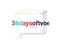 36daysoftype | 2016