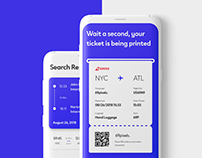 Mobile Flights App Concept