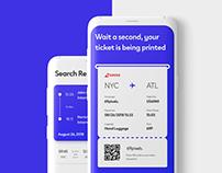 Mobile Flights App Concept