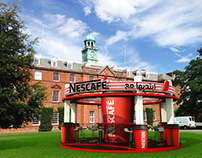 Nescafeَ Booth & Sitting Area