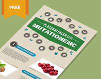 Free Vector PSD Infographic Template - Nutrition Theme