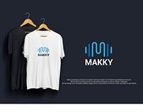MAKKY Logo Concept