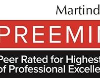 AV Preeminent rating, Martindale-Hubbell