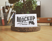 30 Business Card Mockups Free Psd Download
