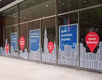 BMO Harris Bank Chicago Flagship Window Wrap