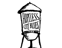 Hopeless City Blues Band Logo