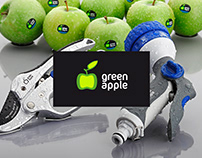 Logo & Package for GREEN APPLE