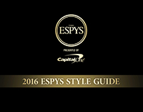 2016 ESPYS Style Guide